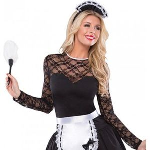 COQUETTE Exotic French Maid Halloween Costume